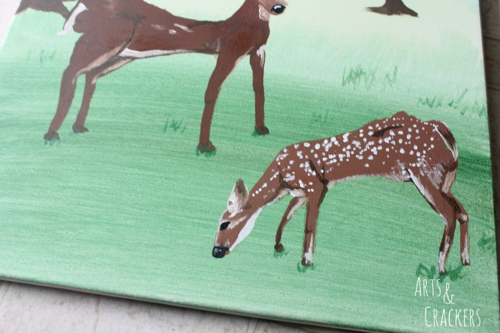 Footprint Deer Step 20