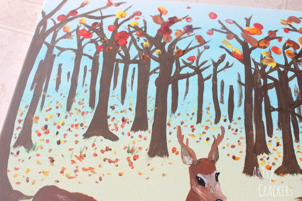Footprint Deer Step 22