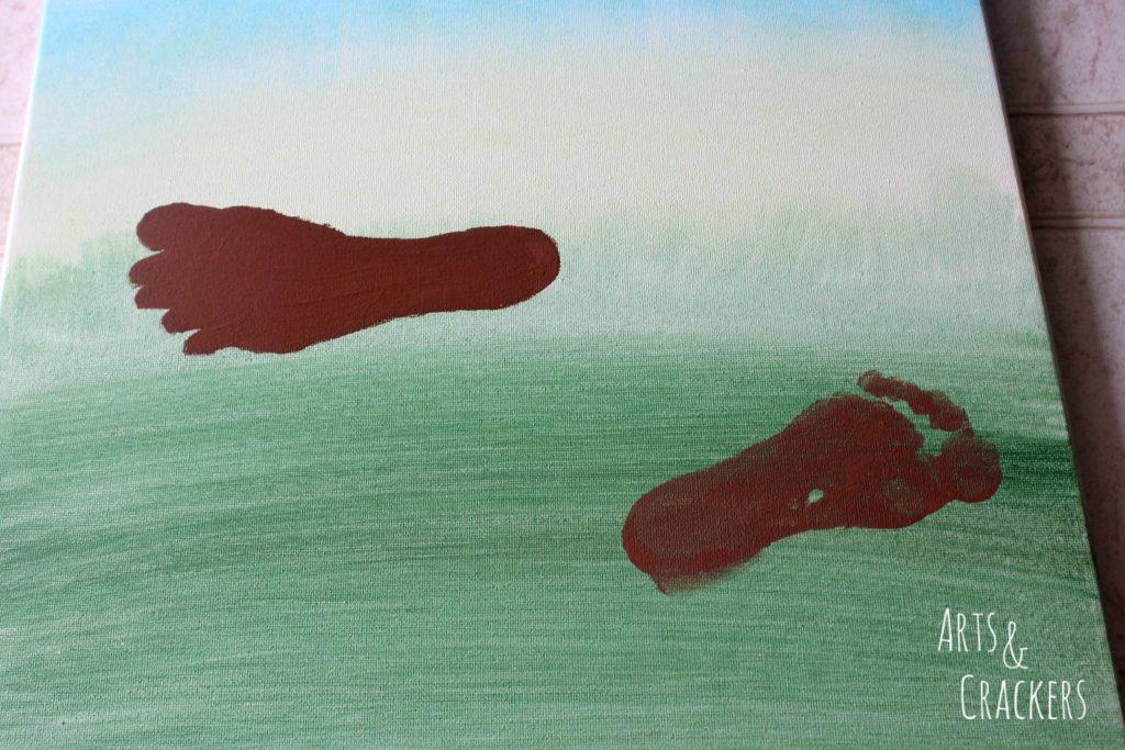 Footprint Deer Step 5