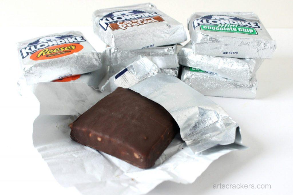 Klondike Ice Cream Bars Unwrapped