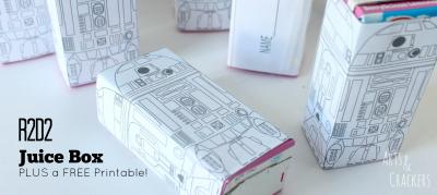 R2D2 Juice Boxes