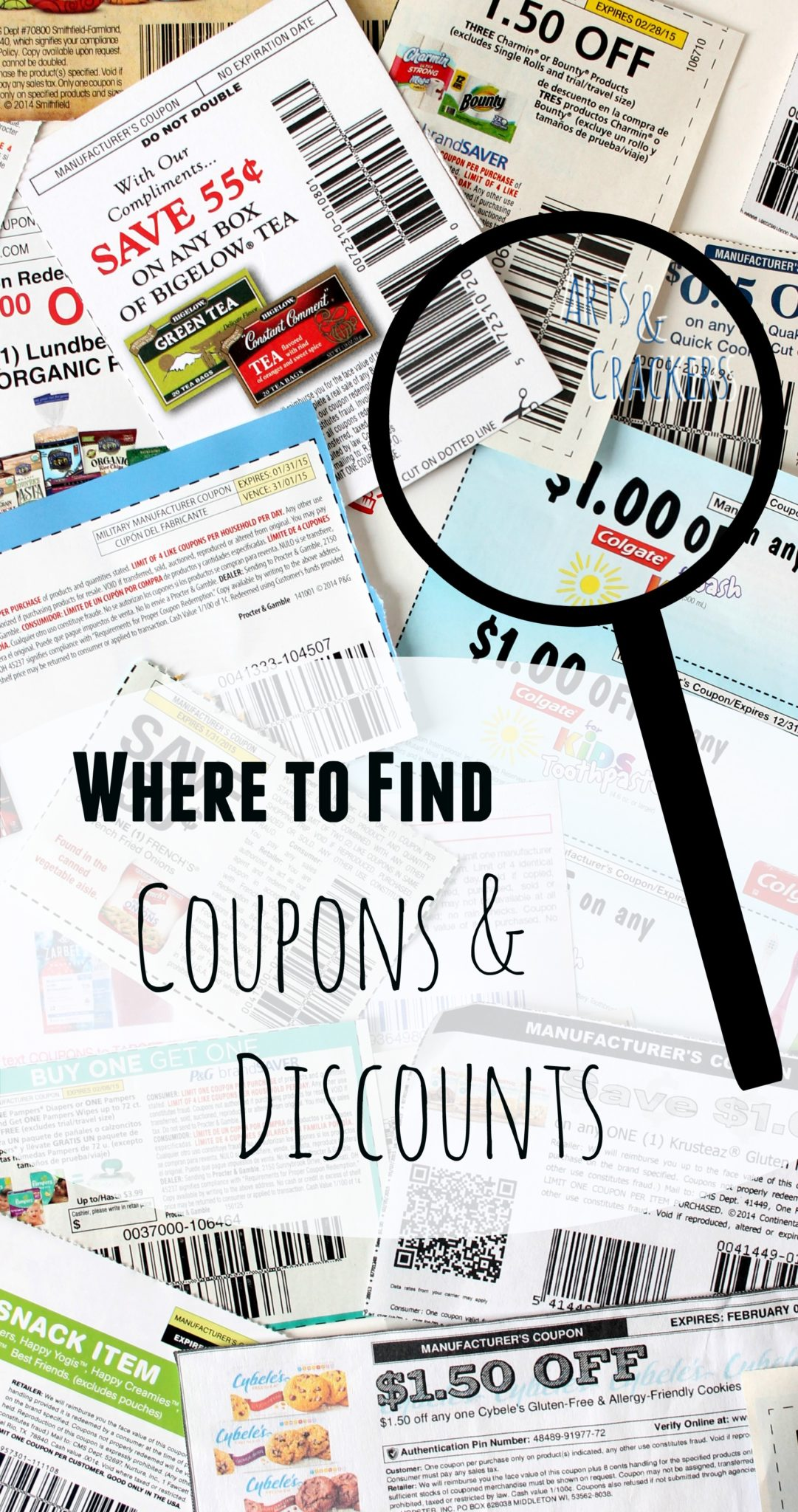 Where to Find Coupons and Discounts Reference Guide