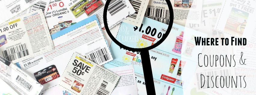Where to Find Coupons and Discounts