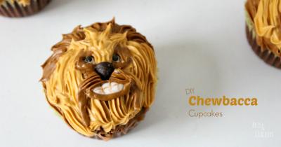 Chewbacca Cupcakes