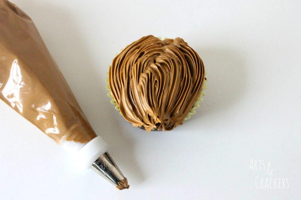 Chewbacca Cupcakes Step 4