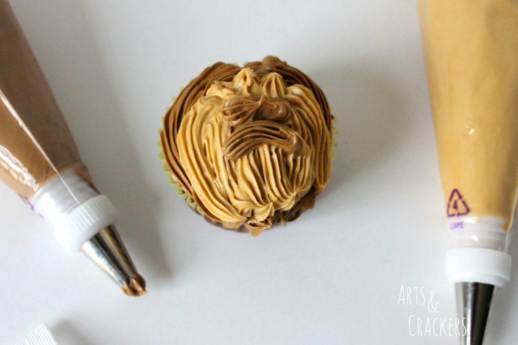 Chewbacca Cupcakes Step 6