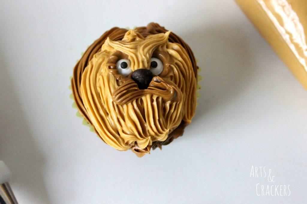 Chewbacca Cupcakes Step 8