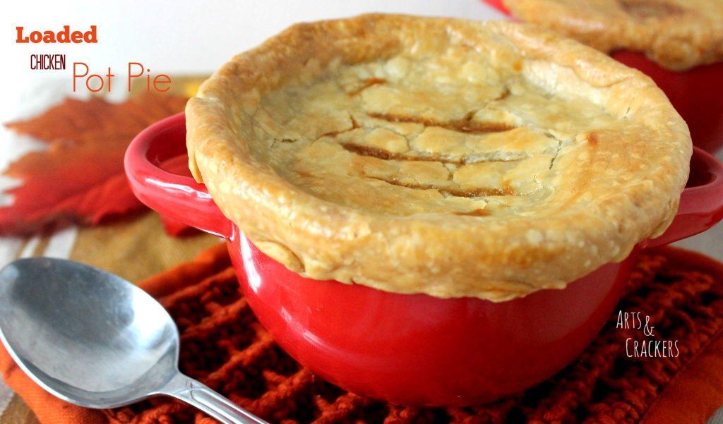 Loaded Chicken Pot Pie Recipe