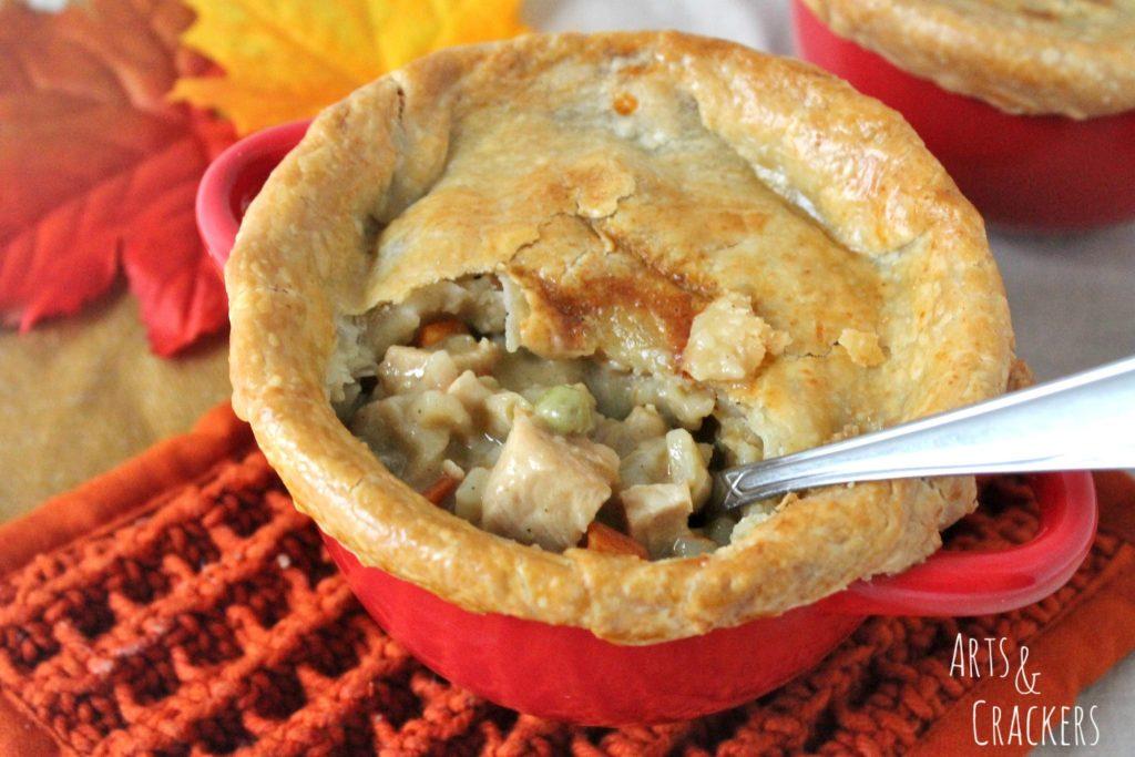Loaded Creamy Chicken Pot Pie