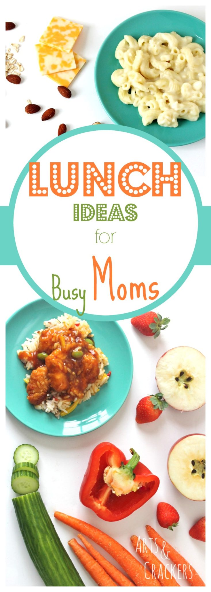 You're a busy mom; it's easy to take care of your kids and forget to eat lunch yourself. Your health and wellness is important, so here is a list with quick and easy lunch ideas for busy moms (and dads) to get a balanced and complete lunch with the help of LEAN CUISINE. #NourishWhatMatters ad