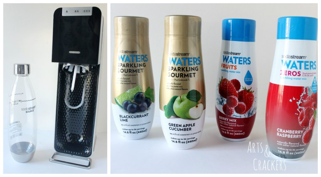 SodaStream Power with Sparkling Waters