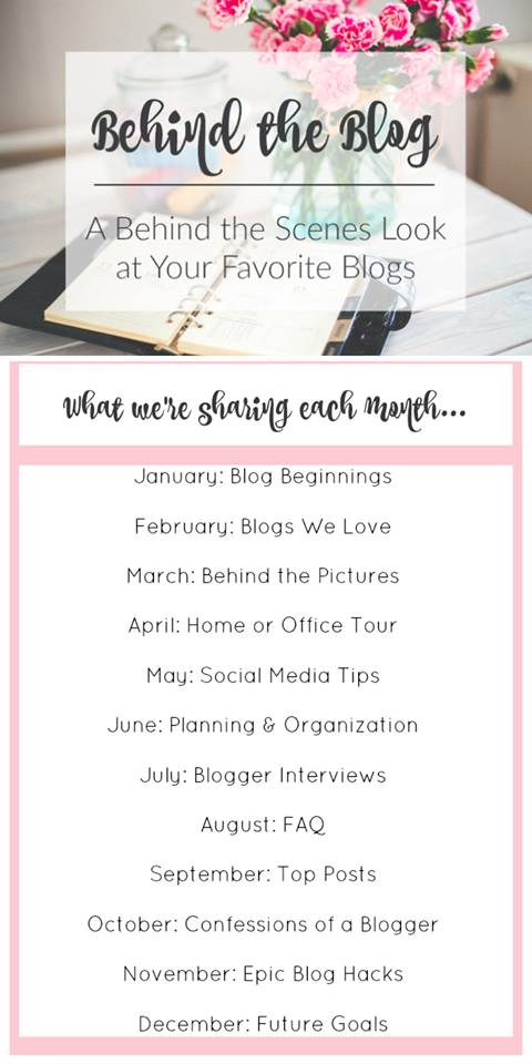 Behind the Blog Series By Month
