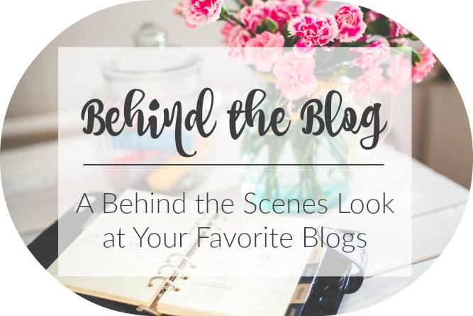 Behind the Blog Logo Graphic