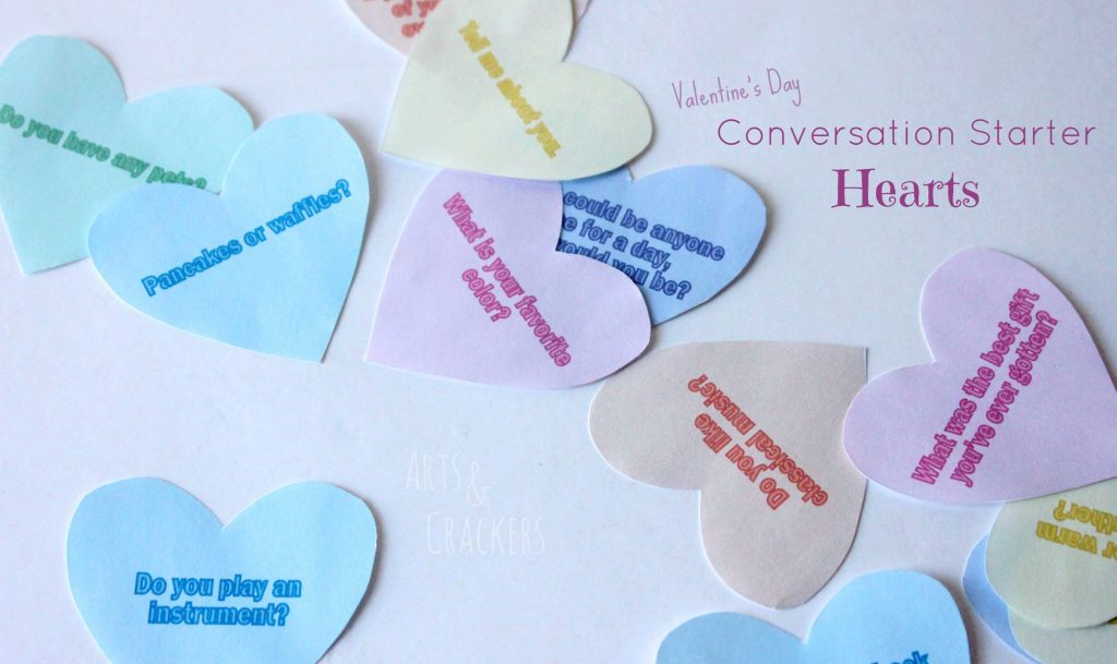 Conversation Starter Hearts