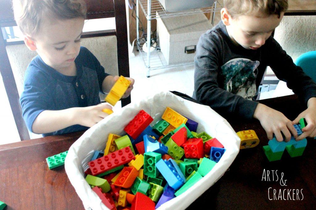 LEGO Education Build Me Emotions Collaboration