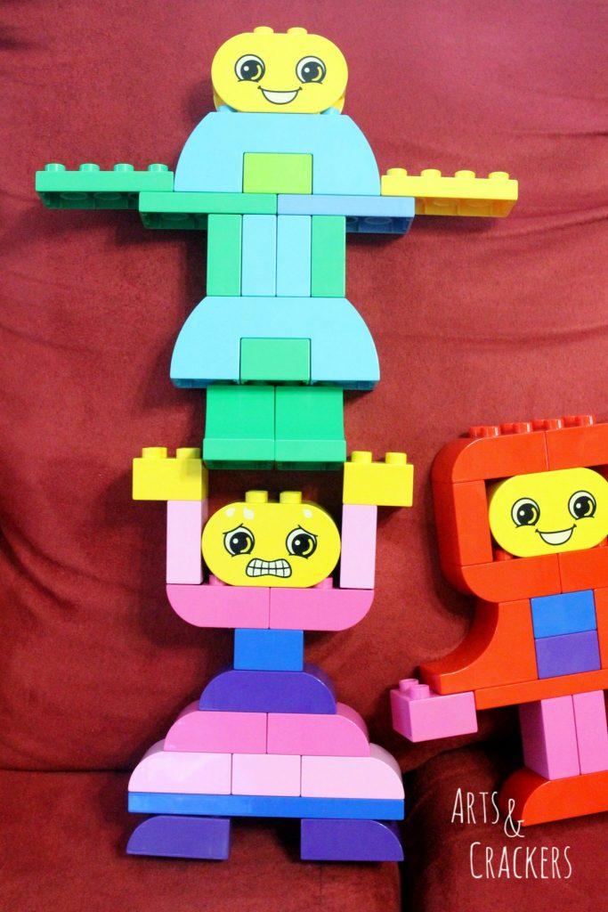 LEGO Education Build Me Emotions Lifting E