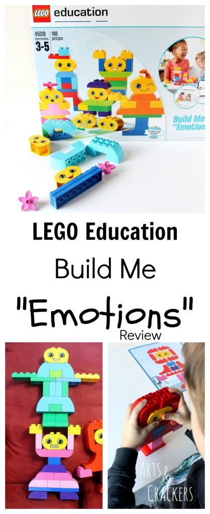 "Discover and understand emotions with the new LEGO Education Build Me ""Emotions"" brick kit."