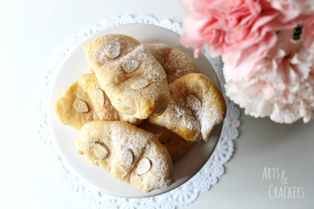 Lemon Pastries Overhead