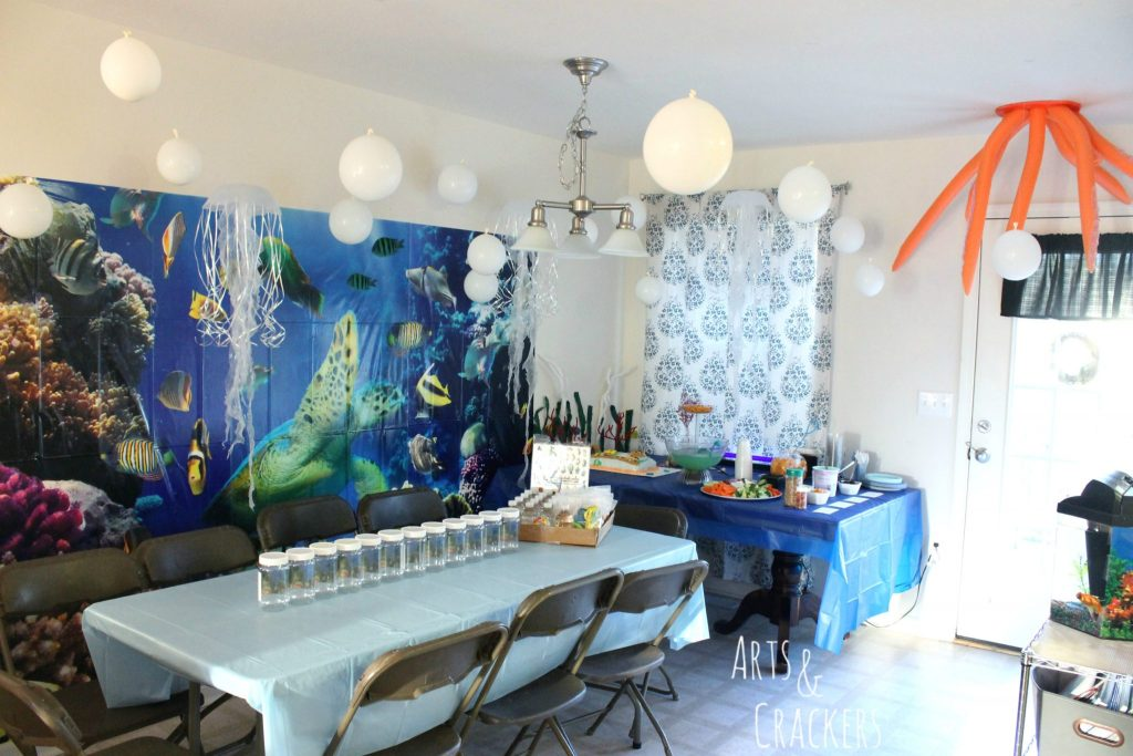 Ocean Themed Party Decorations