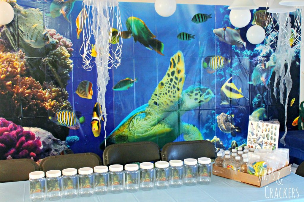 Ocean Themed Party Decorations Craft Time