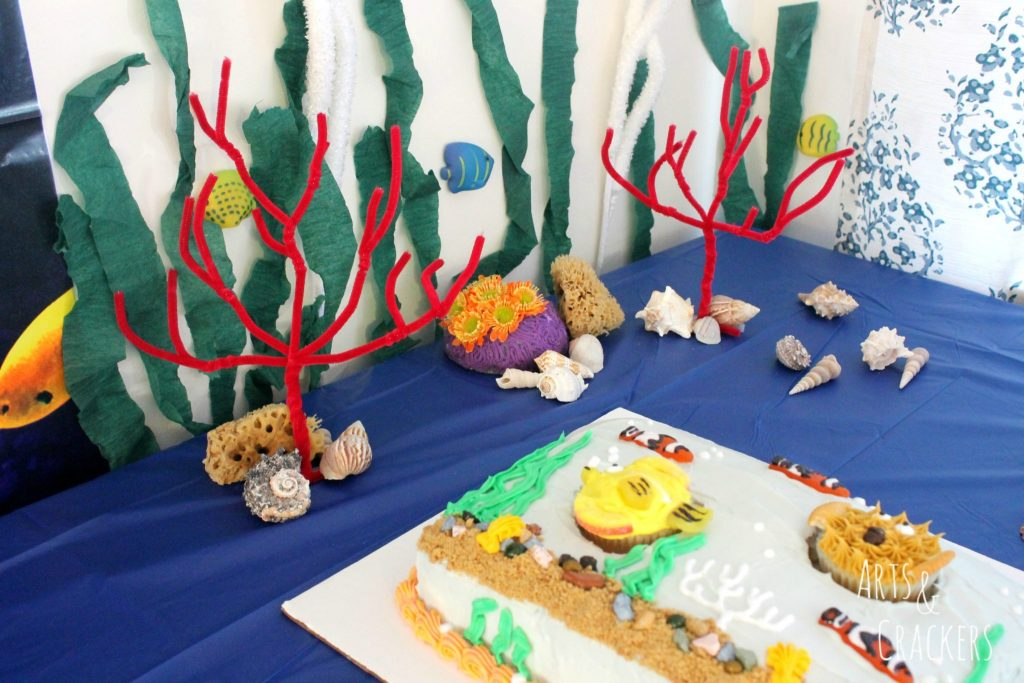 Ocean Themed Party Decorations Pipe Cleaner Coral
