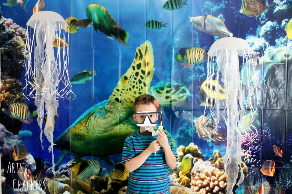 Ocean Themed Party Pics Photo Scene