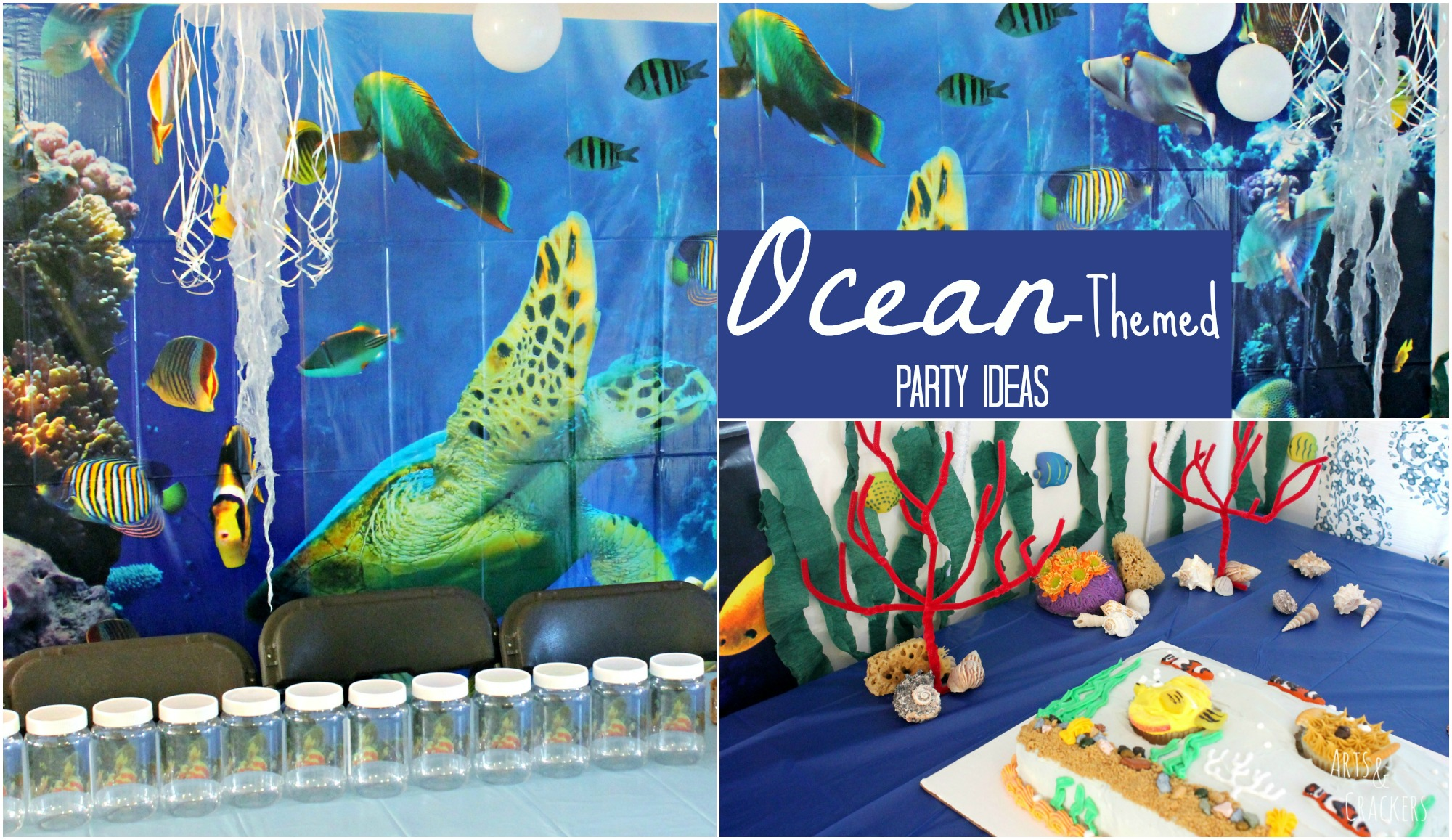 Ocean Themed Birthday Party Theme