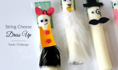 String Cheese Dress Up