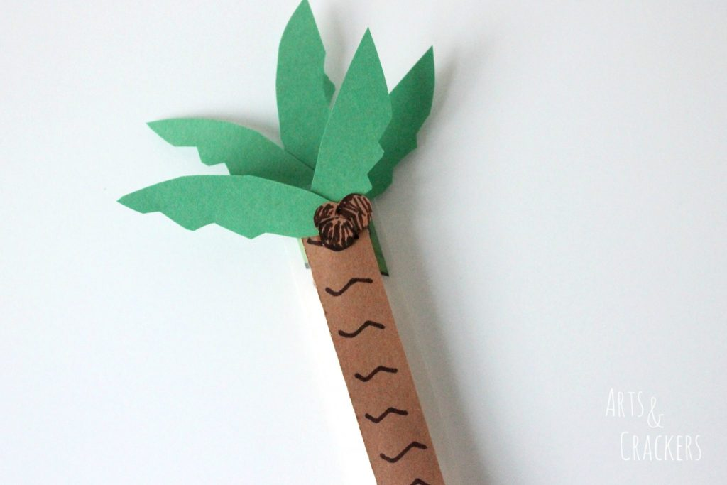 String Cheese Palm Tree Step 7