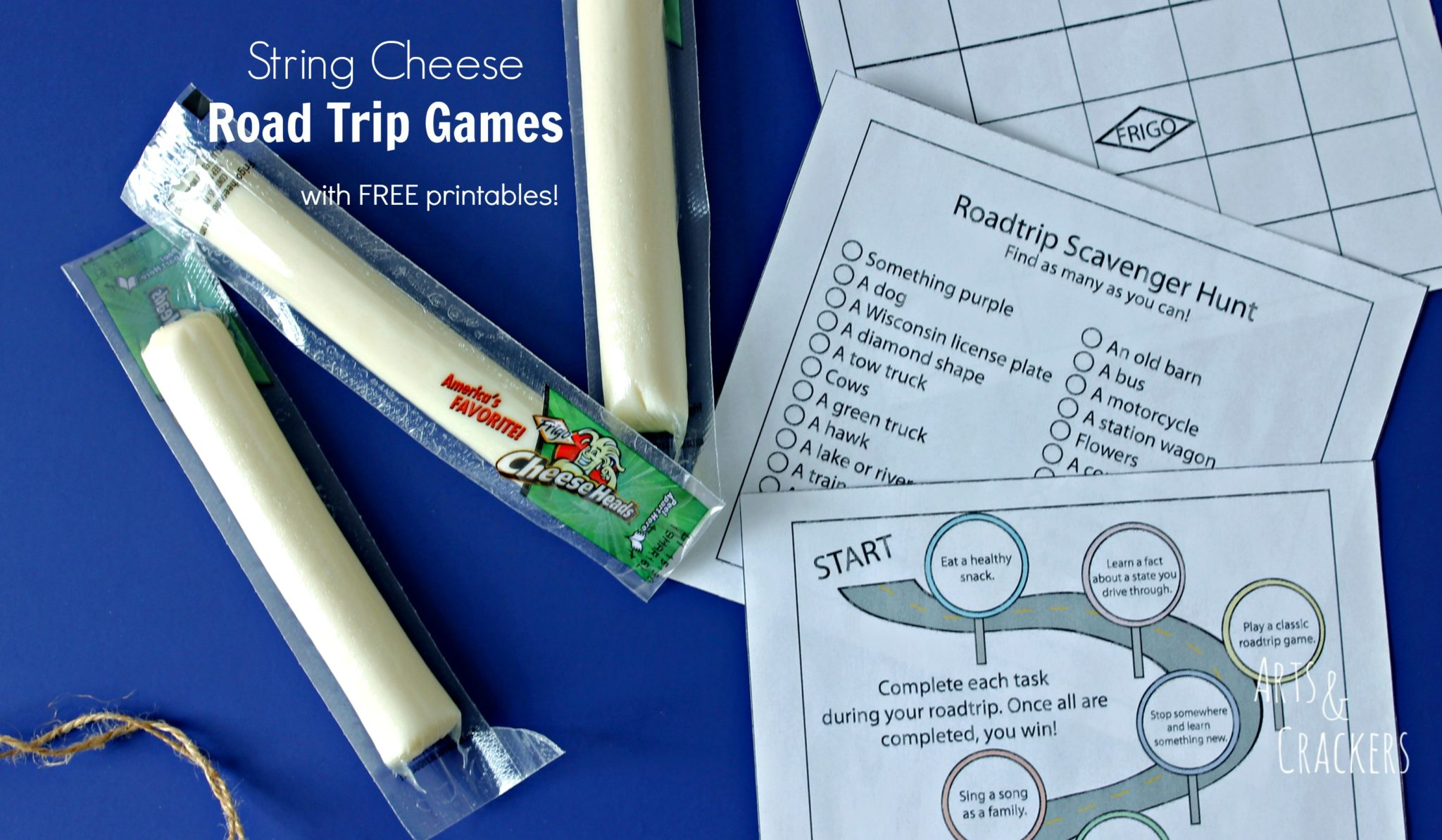 String Cheese Road Trip Games