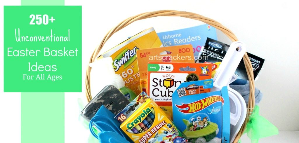 Huge List of Unconventional Easter Basket Ideas for All Ages