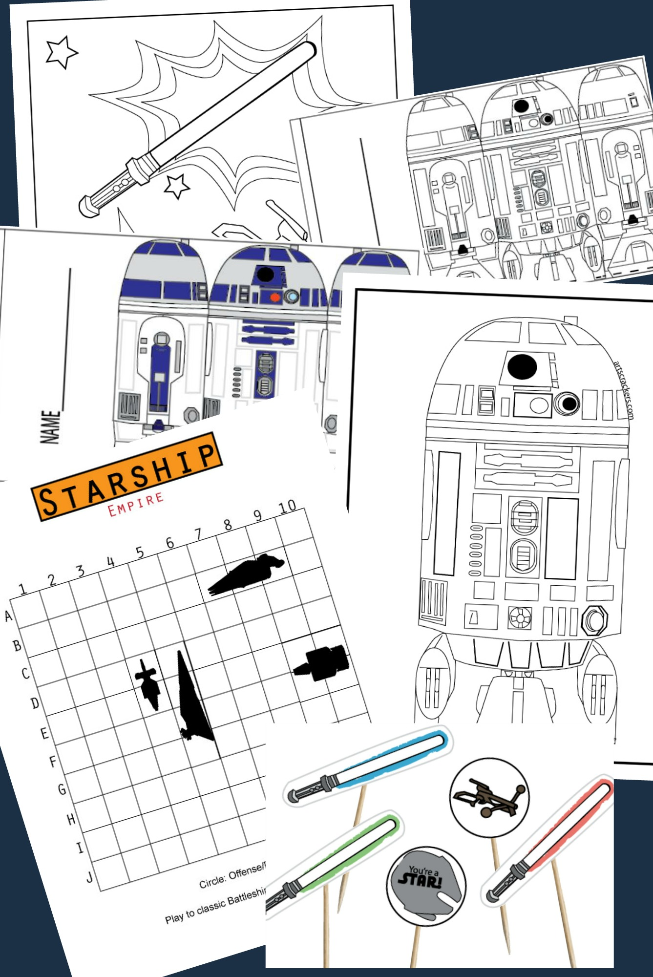 Star Wars-Themed Printable Party Package