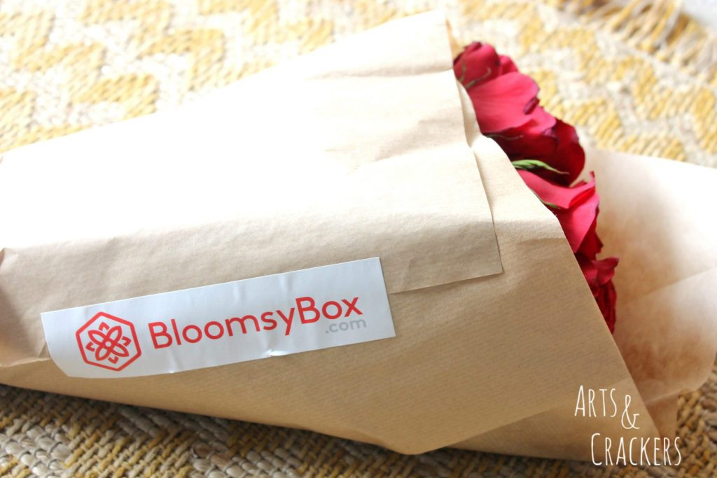 Bloomsy Box Wrapped Roses