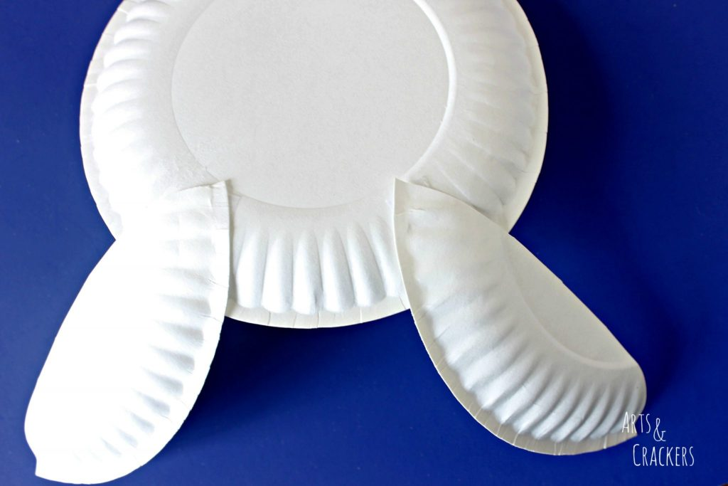 Paper Plate Bunny Ears 2