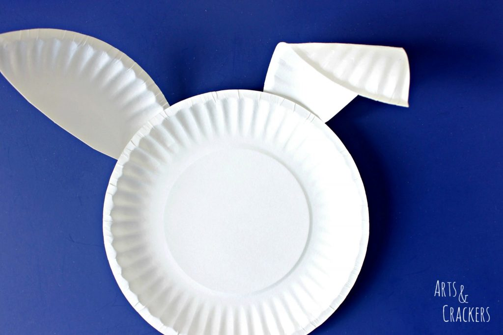 Paper Plate Bunny Ears 3