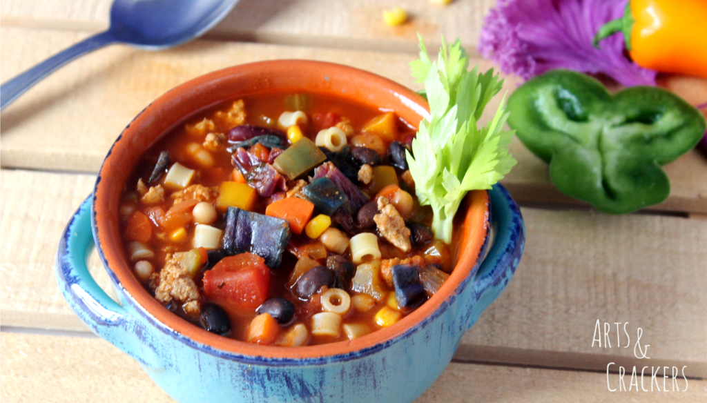 Rainbow Chili Recipe Cover Photo