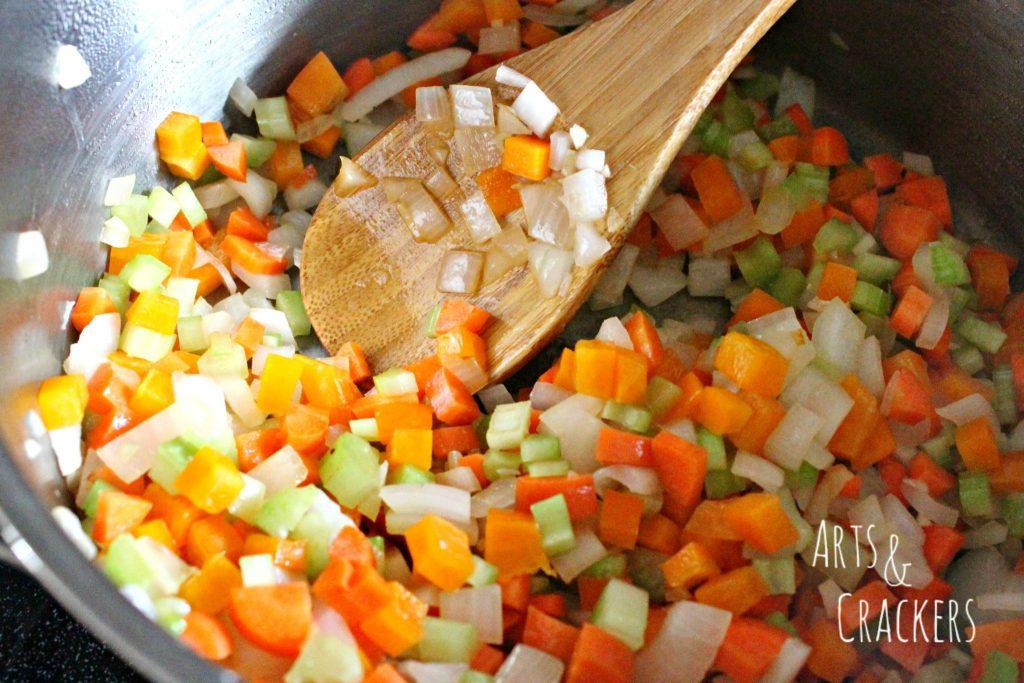 Rainbow Chili Recipe Step 2