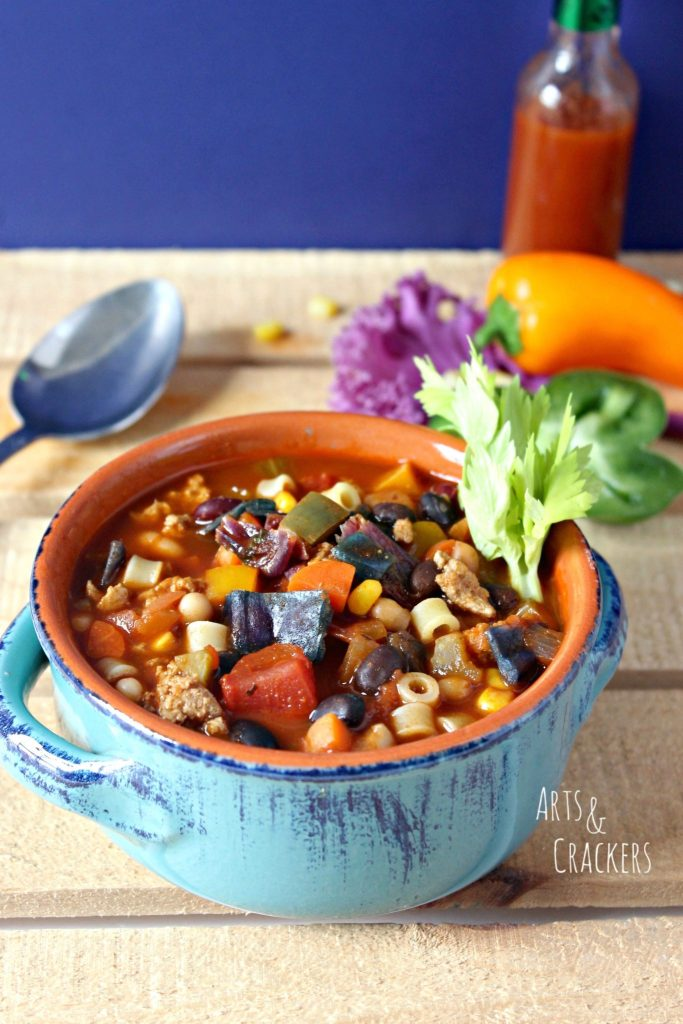 Rainbow Vegetable Chili Recipe