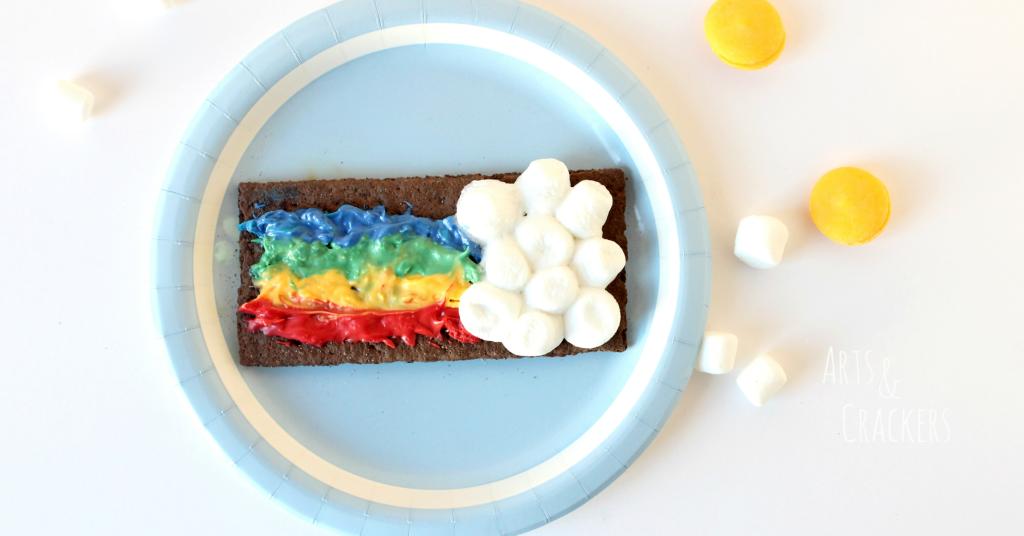 Rainbow S'mores Recipe