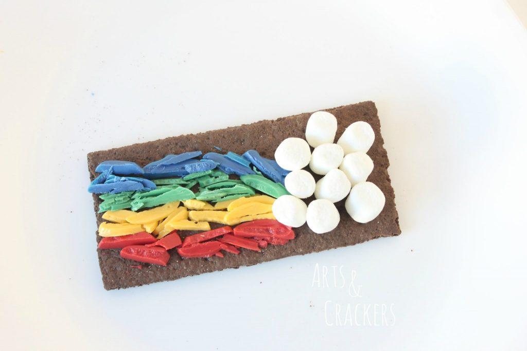 Rainbow Smores Step 2