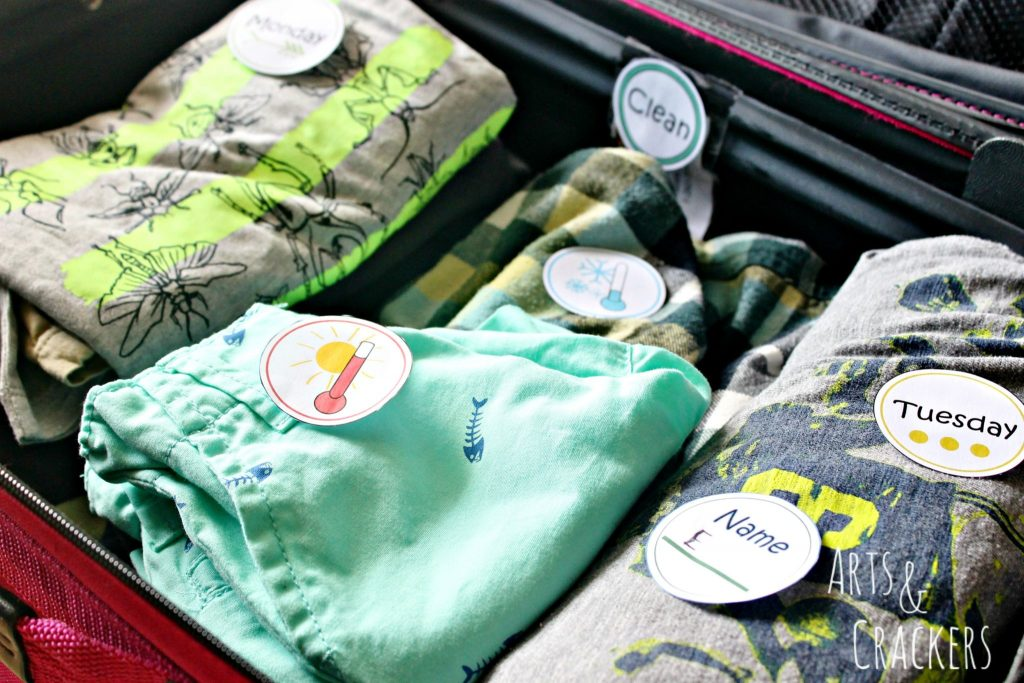 Traveling with Kids Packing Tips