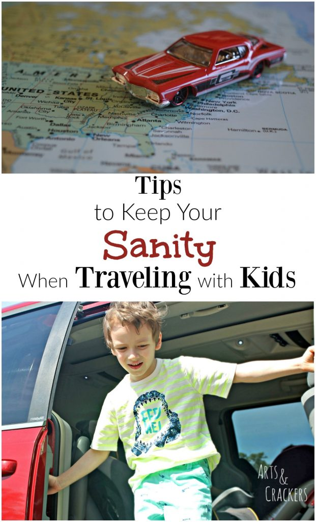 Traveling with kids can be a challenge, so check out these awesome tips for packing, snacking, and entertaining! Includes a free printable.