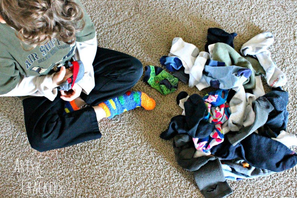 Laundry Hacks Socks 1