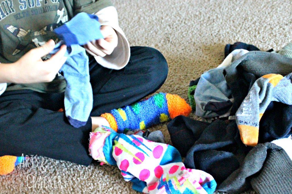 Laundry Hacks Socks 2