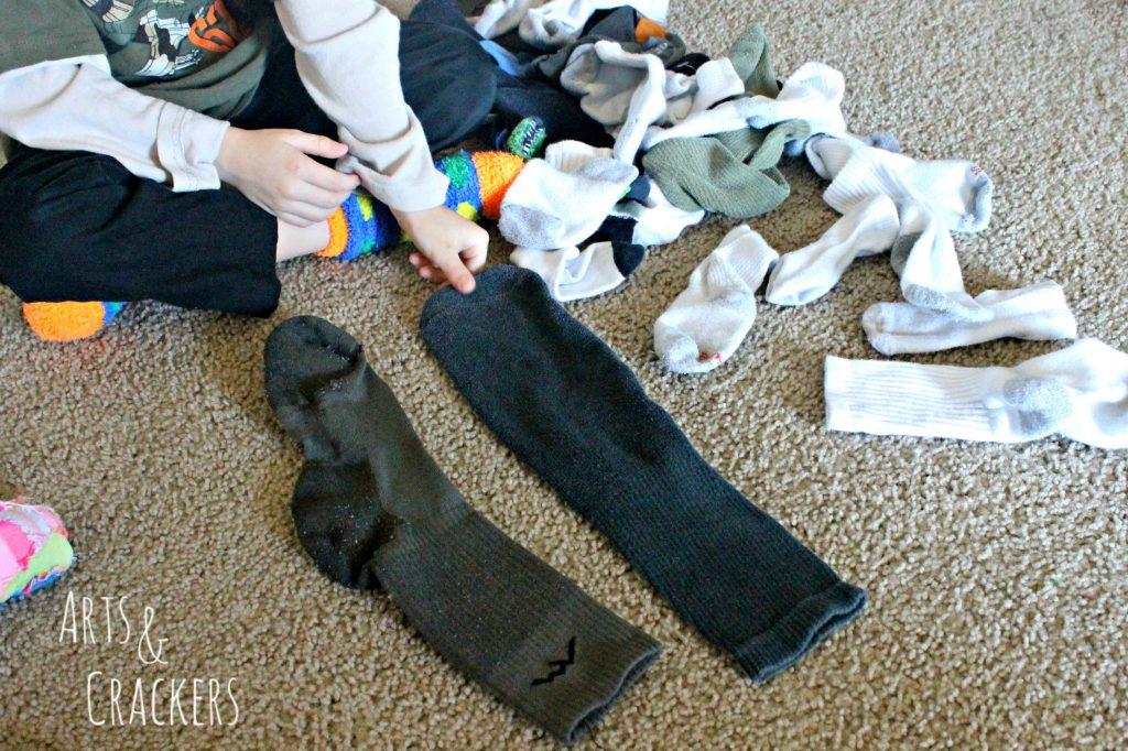 Laundry Hacks Socks 4