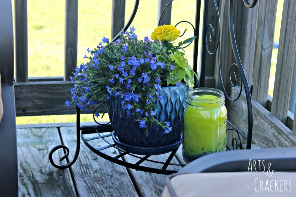 Transform Your Patio in a Day Flower Pot