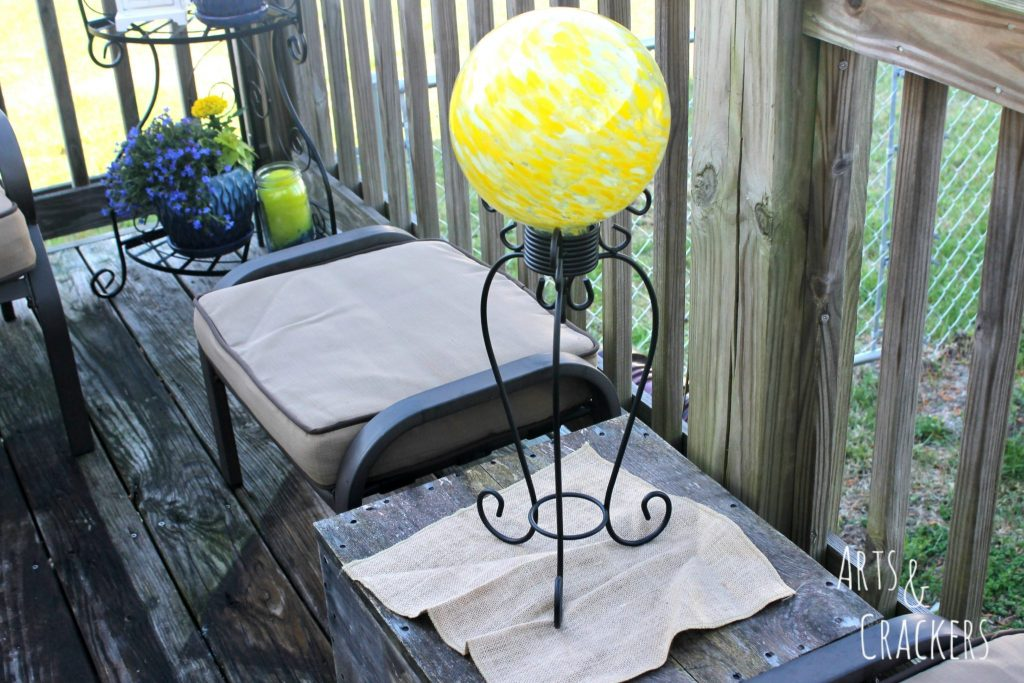 Transform Your Patio in a Day Glass Orb