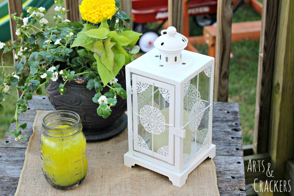 Transform Your Patio in a Day Lantern