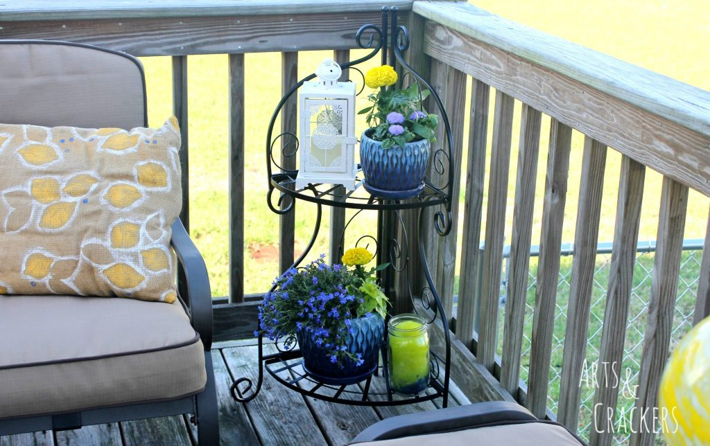 Transform Your Patio in a Day Plant Holder