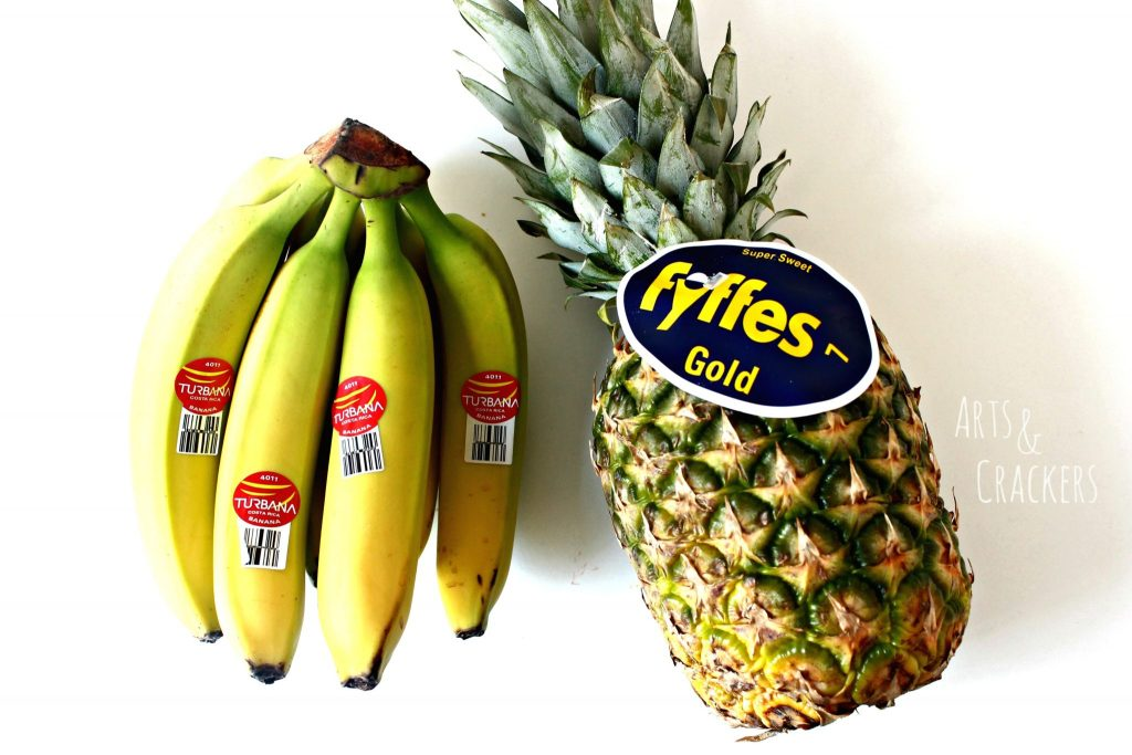 Turbana Banana Fyffes Pineapple